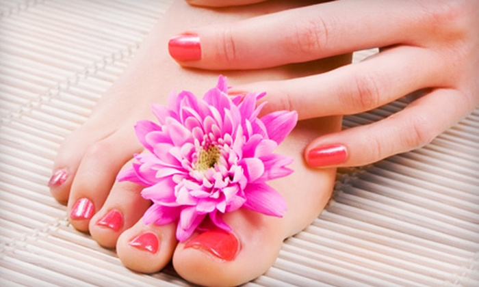 Salon Avalon and Spa - Salon Avalon & Spa: Deluxe Spa Pedicure with Optional Deluxe Spa Manicure with Shellac at Salon Avalon and Spa (Up to 64% Off)