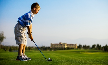 13-Visit Punch Card for Round of Golf for Juniors, Seniors, or Adults at The Children's Course (Up to 44% Off)