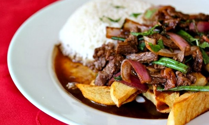 Nazca Cafe - Boadway: Peruvian and Latin American Food at Nazca Cafe (Up to 50% Off). Two Options Available.