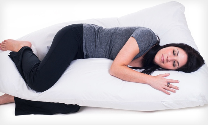 Full-Body Contour U Pillow: $59.99 for a Full-Body Contour U Pillow ($107 List Price). Free Shipping.