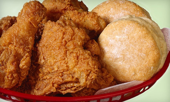 Maryland Fried Chicken - Old Town: Fried Chicken, Sides, and Biscuits at Maryland Fried Chicken (Half Off). Two Options Available.