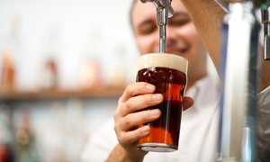 The Brass Tap: $18 for $30 Worth of Craft Beer and Bar Food for Two or More at The Brass Tap