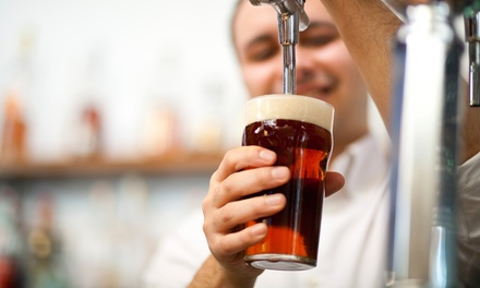 $18 for $30 Worth of Craft Beer and Bar Food for Two or More at The Brass Tap