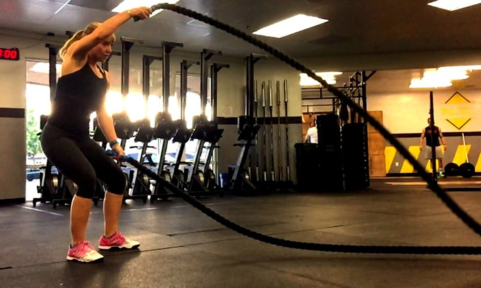 CrossFit Fear Average - CrossFit Fear Average: One Month of HIIT Boot-Camp Classes with Meal Plan for One or Two at CrossFit Fear Average (Up to 75% Off)