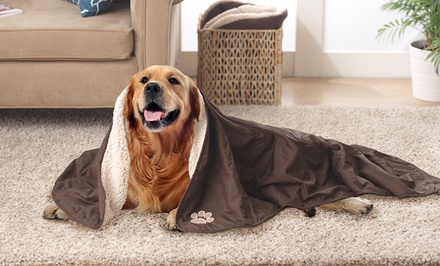 Reversible Pet Throw