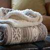 Fleece Sherpa Throws