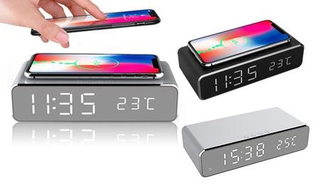 1 ou 2 réveils avec chargeur de téléphone sans fil