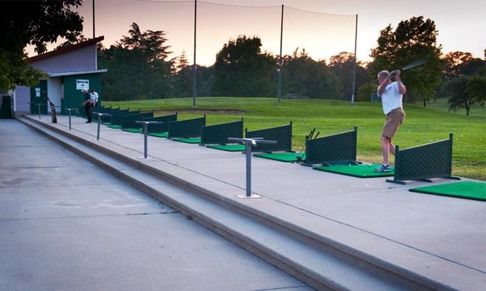 Woodcreek Golf Club and Diamond Oaks Golf Course - Multiple Locations: $25 for 10 Medium Buckets of Balls at Woodcreek Golf Club and Diamond Oaks Golf Course ($60 Value)