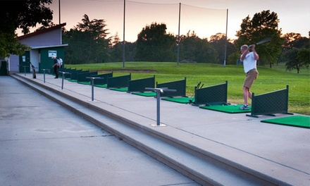 $25 for 10 Medium Buckets of Balls at Woodcreek Golf Club and Diamond Oaks Golf Course ($60 Value)