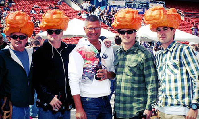National Buffalo Wing Festival - Central Business District: Admission for Two or Four with a $5 Food Ticket Per Person to the National Buffalo Wing Festival (45% Off)