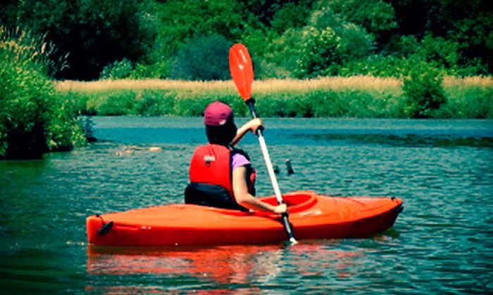 Whitewater Music and Adventure - St Catharines-Niagara: Two- or Three-Hour Kayak Tour for One or Two from Whitewater Music and Adventure (Up to 77% Off)