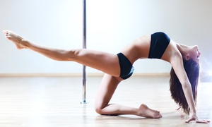Studio88: 5 or 10 Group Pole-Dancing Classes, 3 Private Classes, or Pole-Dancing Party for Up to 12 (Up to 58% Off)
