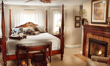 Two-Night Stay with Optional Romance Package at Songbird Prairie Bed & Breakfast in Valparaiso, IN from Songbird Prairie Bed & Breakfast -