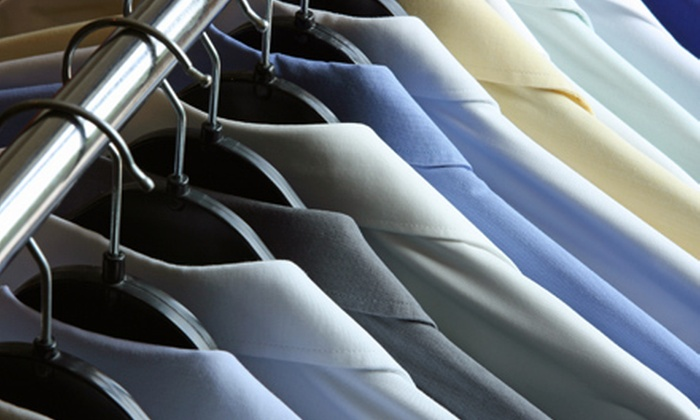 Mayfair Cleaners - Newton Upper Falls: Dry Cleaning from Mayfair Cleaners (Half Off). Two Options Available.