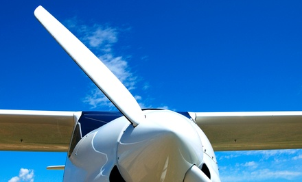 40-Minute Two- or Four-Seater Flight Course from Skies Unlimited (Up to 55% Off)