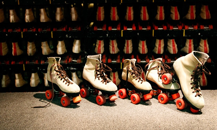 Skate N Shake - Jackson: Roller Skating and Wings for Two or Four with Optional Glow Skating at Skate N Shake (Up to 52% Off)