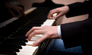 New England Studio of Music: 30-Minute In-Studio Piano Lesson or One or Three 60-minute Piano Lessons at New England Studio of Music (Up to 56% Off)