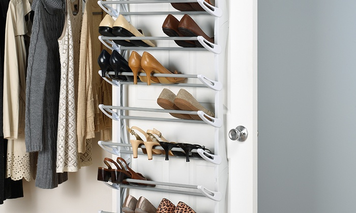 e35edd8d357 Whitmor 36-Pair Over-the-Door Shoe Rack