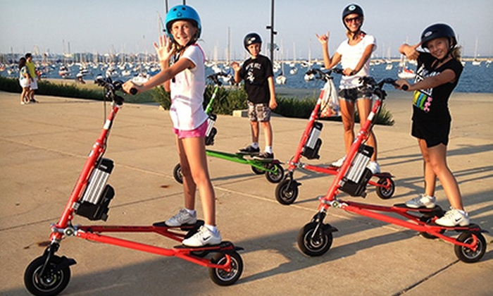 Trikke Chicago - The Loop: Two-Hour Electric Trikke Rental for Two or Four from Trikke Chicago (Up to 51% Off)