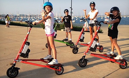 Two-Hour Electric Trikke Rental for Two or Four from Trikke Chicago (Up to 51% Off)