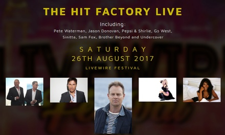 Livewire Festival 2017: The Hit Factory on 26 August, Blackpool