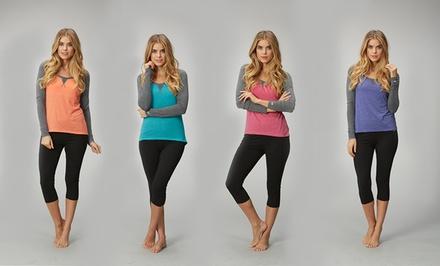 Marika Women's Raglan-Sleeve Tees
