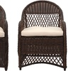 Safavieh's Outdoor Wicker Arm Chairs