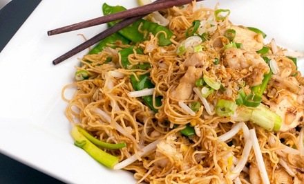 BYOB Thai Cuisine at Little Thai Kitchen (Up to 52% Off). Four Options Available.