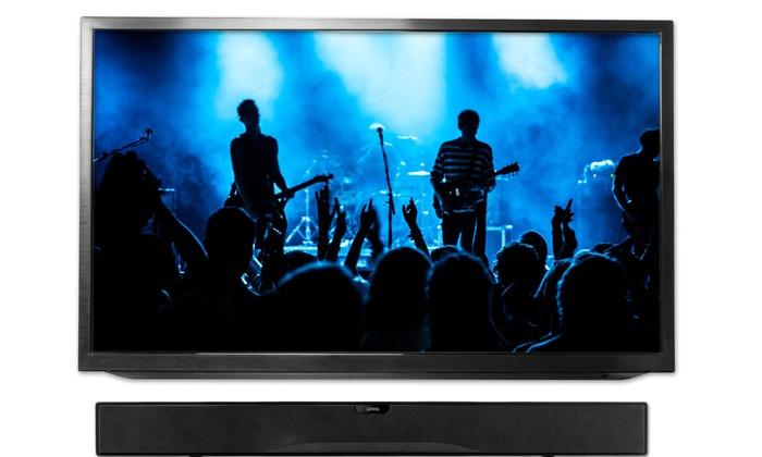 32 sound bar stereo tv speaker groupon goods for Runescape xp table 1 99