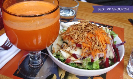 Vegan Food for Two or Four at Sacred Chow (45% Off)