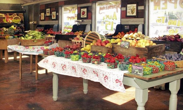 Fresh from D'Vine - Salinas: $15 for Three $10 Vouchers for Fresh Produce at Fresh from D'Vine ($30 Total Value)
