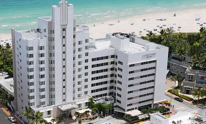 Courtyard Cadillac Miami Beach Oceanfront In Miami Beach