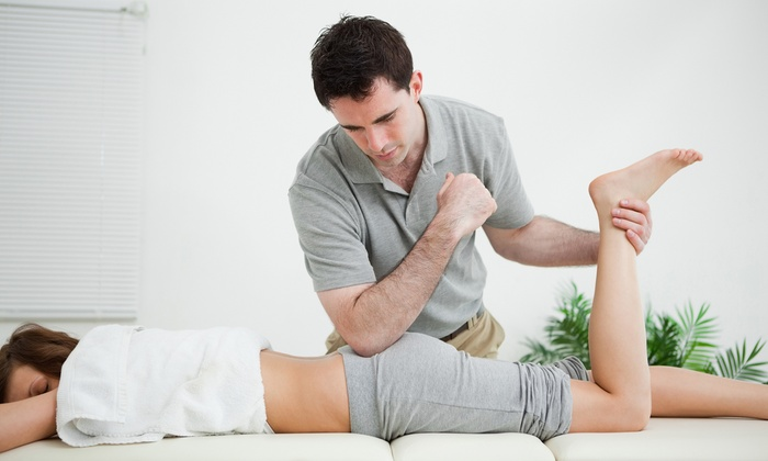 Align Chiropractic & Massage - Multiple Locations: Chiropractic Exam with Adjustment and One or Three Massages at Align Chiropractic & Massage (Up to 84% Off)