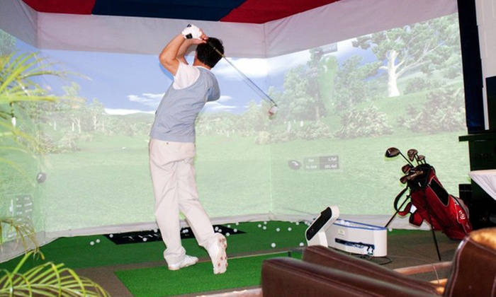 OnGolf Club - Richmond Hill: Two- or Three-Hour Golf-Simulator Session and Swing Analysis for Up to Six at OnGolf Club (Up to 65% Off)