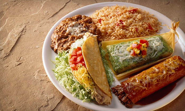 Carlos Cajun Mexican Restaurant - Broadmoor/Sherwood: Cajun-Infused Mexican Fare and Drinks at Carlos Cajun Mexican Restaurant (Half Off). Two Options Available.