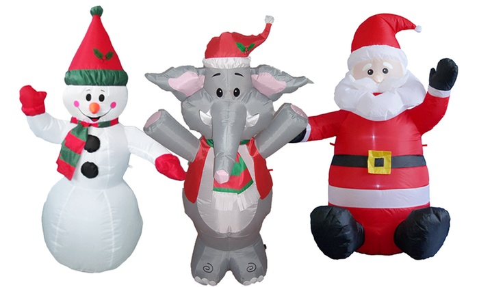 giant inflatable holiday decoration
