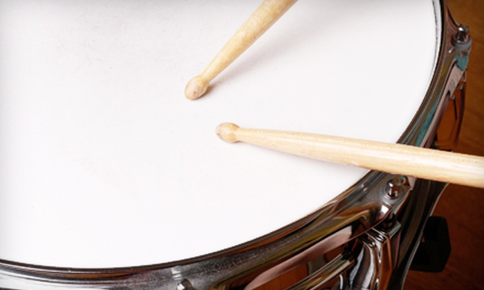 Live Music Academy - Federal Way: Four or Eight 30-Minute Drum Lessons at Live Music Academy (Up to 57% Off)