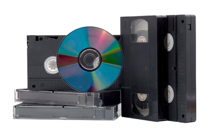 Video-to-DVD Conversion for Two Tapes or Conversion for Four or Six Tapes with Backups  (Up to 61% Off)