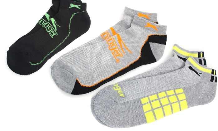 Men's Slazenger Socks: Men's 24-Pack Slazenger Socks. Multiple Colors and Sizes Available. Free Returns.