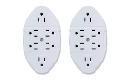2 Wall-Outlet Multipliers. Free Returns.