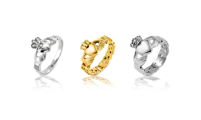 Stainless Steel Claddagh Rings: Stainless Steel Claddagh Rings. Multiple Styles Available.