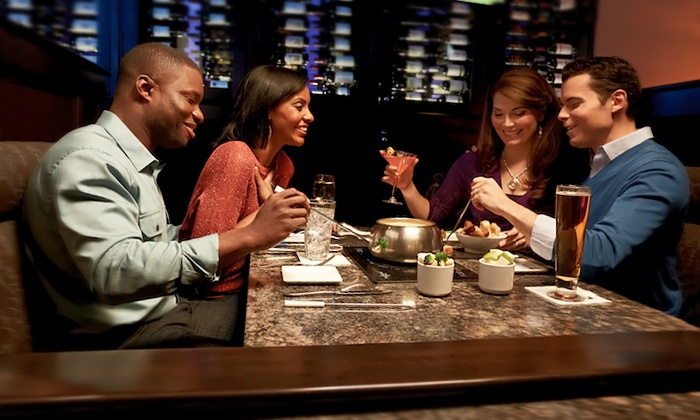 The Melting Pot - Philadelphia: $40 for for a Fondue Dinner for Two with Salads at The Melting Pot (Up to $64.35 Value)