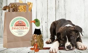 Natura Hundefutter: Wertgutschein über 30, 60 oder 90 € anrechenbar auf Snackbags mit Hundespielzeugen von Natura Hundefutter