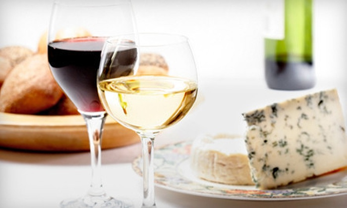 D'Vine Wine - Manitou Springs: Wine and Cheese Tasting for Two or Four at D'Vine Wine in Manitou Springs (Up to 56% Off)