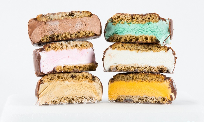 It's-It Ice Cream - Burlingame: 12 Ice Cream Sandwiches with Optional 12 Cookies or a Pack of Cookie Dough at It's-It Ice Cream (Up to 46% Off)