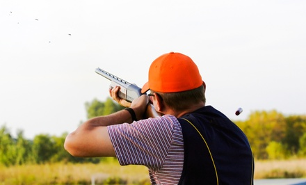 Sporting Clays Outing for Two with Optional Equipment Rental and Safety Class at Red's Fly Shop (Up to 76% Off)