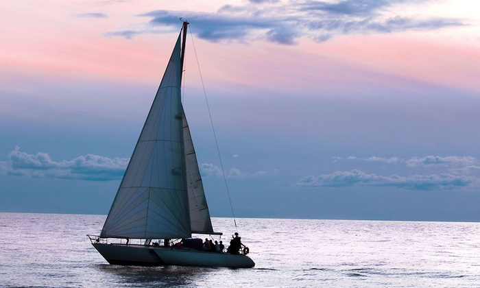 The Sailboat Club - Jacksonville: Private Sailing Lesson for Two, or Two-Hour BYOB Sunset Cruise for Two or Four from The Sailboat Club (Up to 70% Off)
