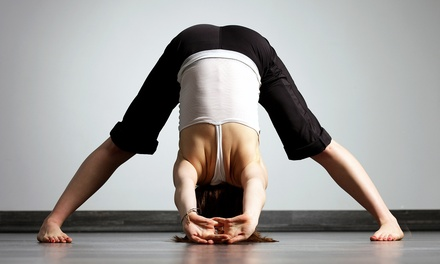 One or Three Months of Unlimited Yoga Classes at Global Breath Studio (Up to 61% Off)