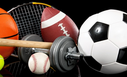 $15 for $30 Worth of Sports Gear and Fitness Equipment at Play It Again Sports