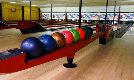 Bowling with Shoe Rental and Drinks for Two, Four, or Six at StrikeHouse Bowl (Up to 54% Off)